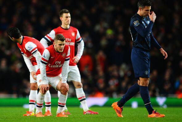 El reparto de puntos entre Arsenal y Manchester United no satisface a na...