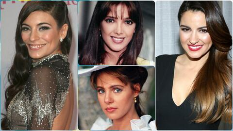 Las bellezas más naturales de las telenovelas