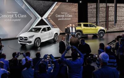 Mercedes-Benz desembarcó en el mundo de las pick-ups con la llega...