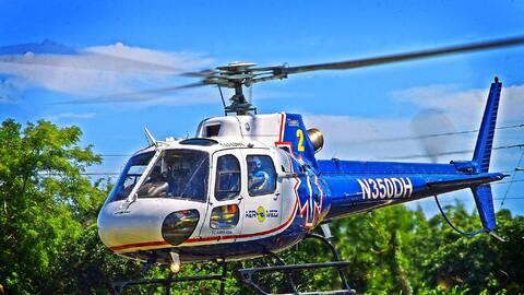 Empresa que brinda servicios de ambulancia aérea en Puerto Rico e...