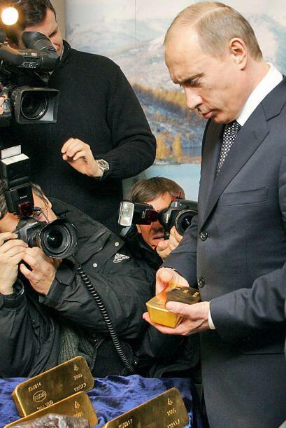 8. RUSIA- Representando el 7.8% de las divisas nacionales, Rusia tiene e...