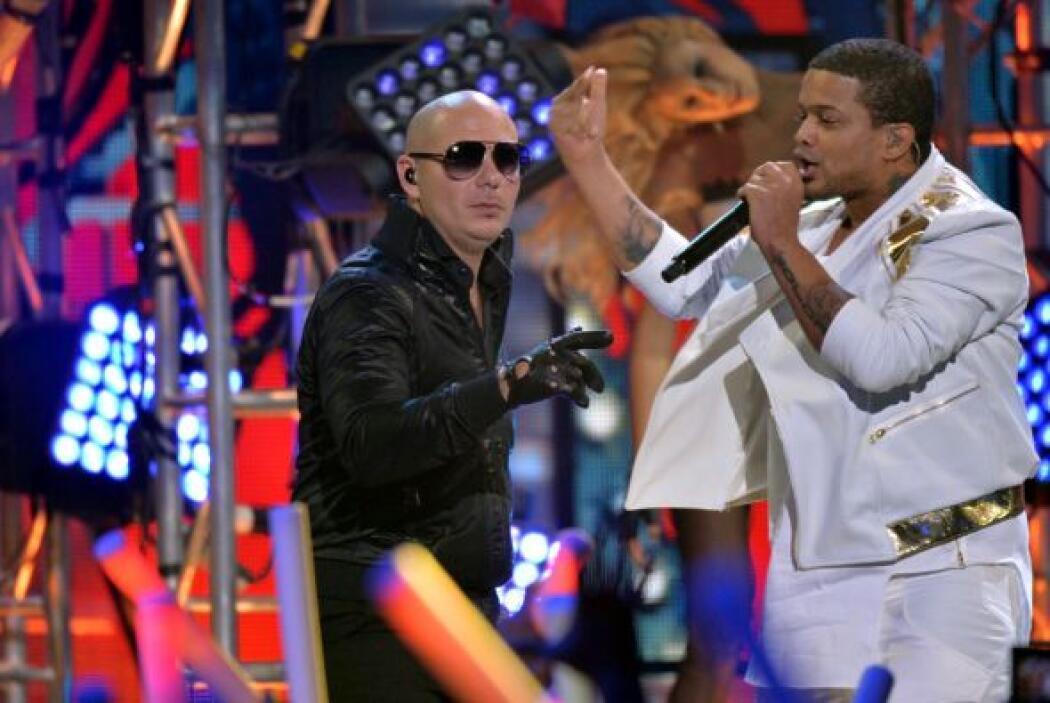 Sin lugar a dudas ambos dieron una gran presentación que puso a bailar a...