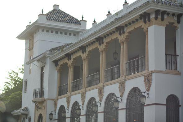 Este edificio centenario pertenece al Registro Nacional de Lugares Histó...