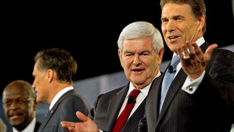 El candidato para las primarias republicanas Rick Perry.