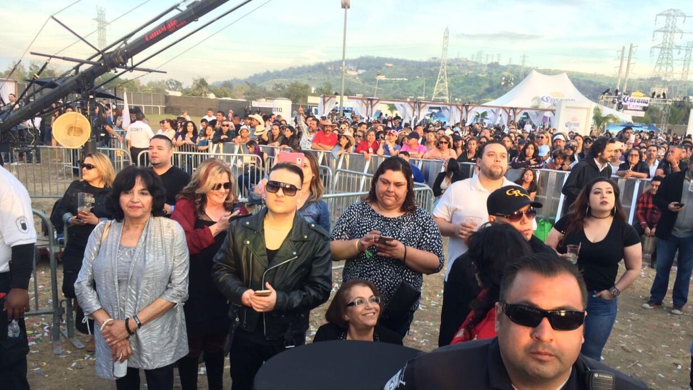 La familia Rivera en el L Festival, un festival dedicado a la música latina