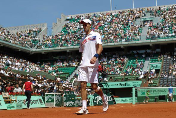 Con esta nueva victoria, 'Nole' Djokovic lleva una serie de 38 partidos...