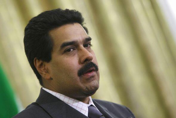 29 de noviembre 2012 El entonces vicepresidente de Venezuela, Nicolás Ma...