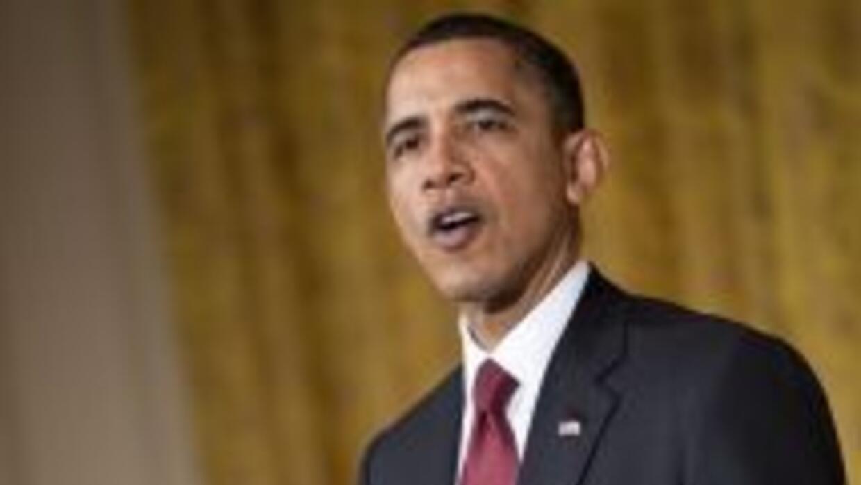El presidente Barack Obama afirmó que no mandara a tropas estadounidense...
