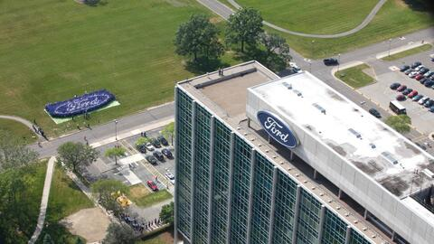La Casa de Vidrio, cuartel general de Ford en Dearborn, Michigan.