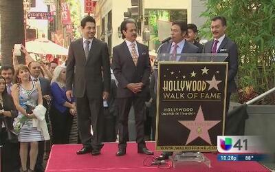 'Los Jefes de Jefes', inmortalizados en Hollywood