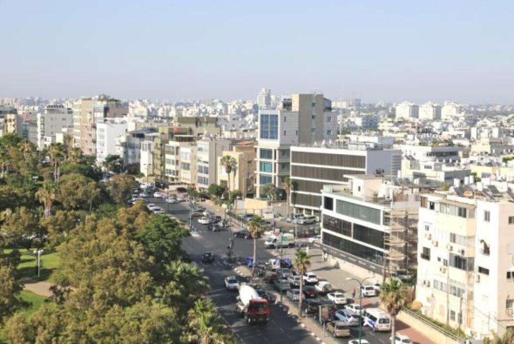 La ciudad vista desde la habitación de Raúl.