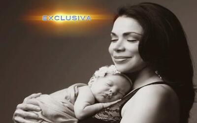 Exclusiva: Astrid Carolina Herrera fue madre primeriza a los 51