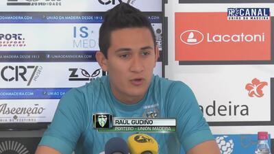 Raúl Gudiño: 'El Unión Madeira es una oportunidad muy grande para mí'