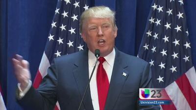 Masiva cancelación a eventos de Donald Trump