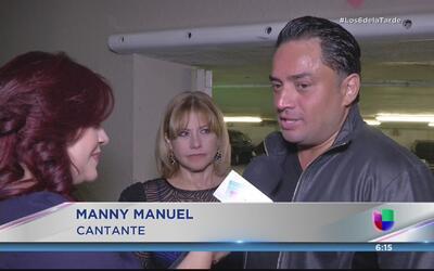 Manny Manuel se siente muy afortunado