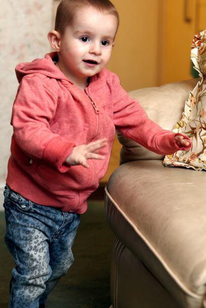Bethany Topley fue diagnosticada con rabdomiosarcoma, un tumor de los m&...