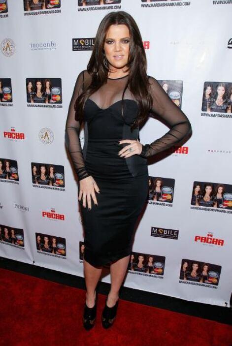 Khloe Kardashian es una bella personalidad de televisión y modelo americ...