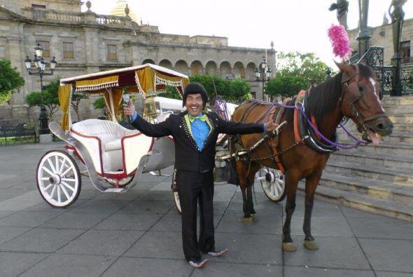 Chilargo preparó un carruaje digno de una reina, para trasladar a nuestr...