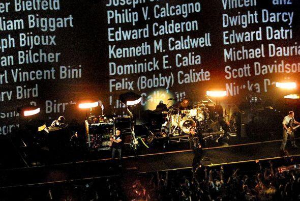 Espectáculo memorable en el 2002.
