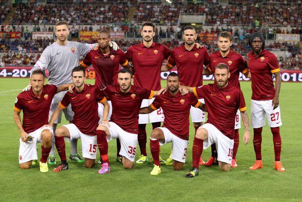 La Roma (Italia) vuelve a la competición tras su excelente tempor...