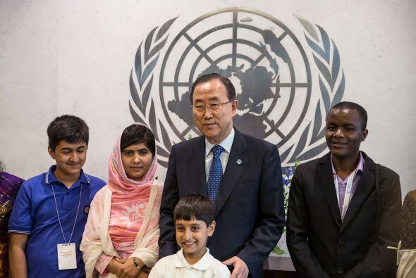 El secretario general de la ONU, Ban Ki-moon, aquí en la foto, se refiri...