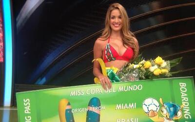 Andrea Villarroel detrás del triunfo en Miss Copa