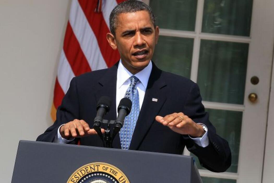 Sobre sus gustos musicales, y lo que escucha en su iPod, Obama dijo: 'Pr...