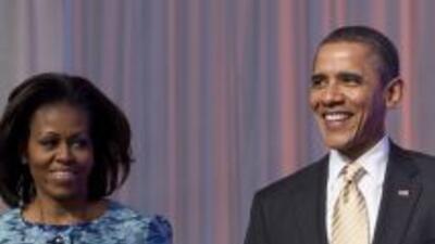 Barack y Michelle Obama se sumaron a los millones de cristianos en el mu...