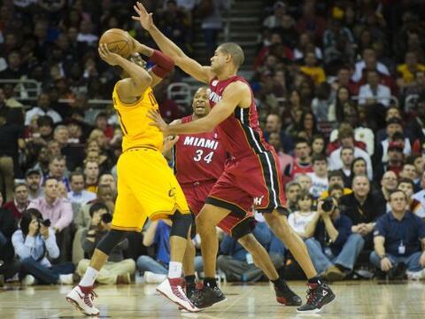 El alero LeBron James regresó a Cleveland, donde vuelve a ser que...