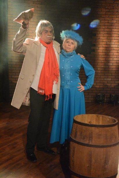 El Doctor Chapatín quiso seducir a La Bruja del 71 pero no se dejó