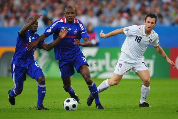 En la Eurocopa del 2008 no vio goles de Cassano, pero sí sus incomparabl...