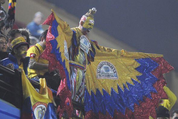 El Aguila de Colombia nunca falta a un partido de su selección.