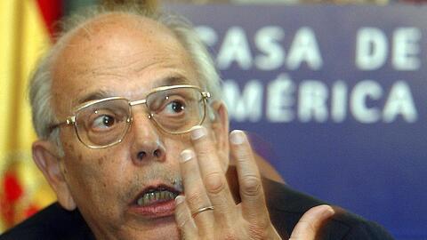 Batlle durante un encuentro sobre el Mercosur en la Casa de America de M...