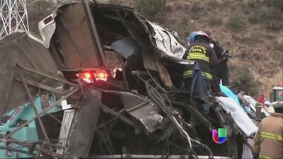 Mortal accidente en México a causa del mal tiempo