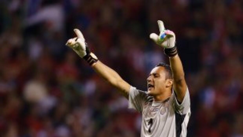 'Quiero dejar el nombre de Costa Rica muy en alto', afirmó Keylor Navas