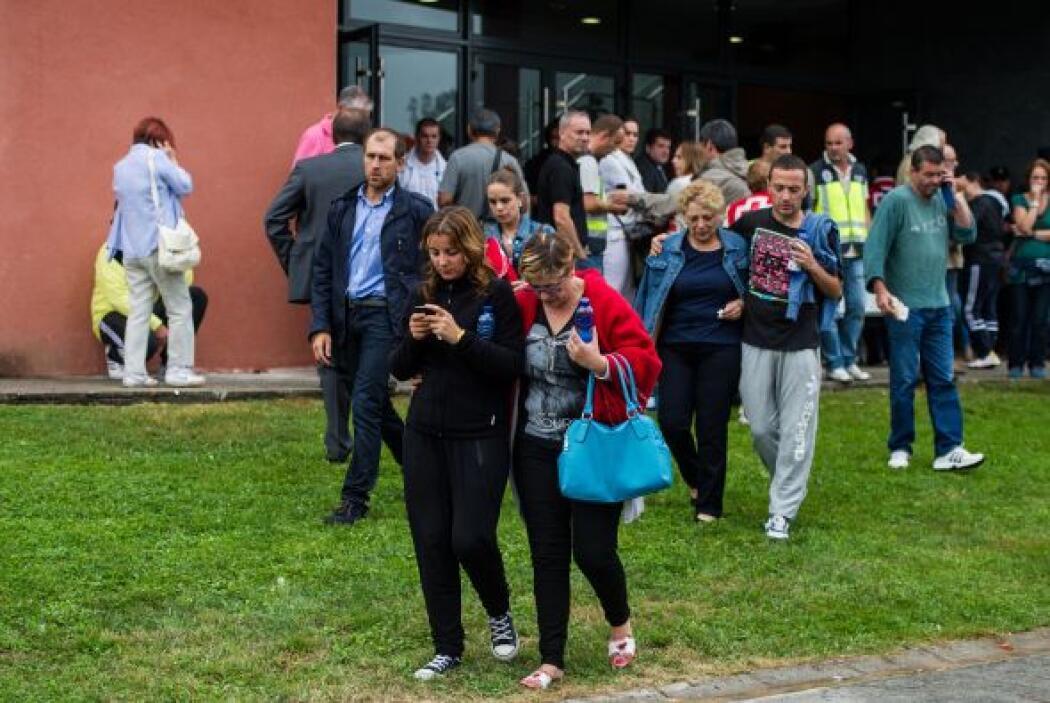 No sólo los vecinos del lugar se movilizaron sino todo Santiago de Compo...