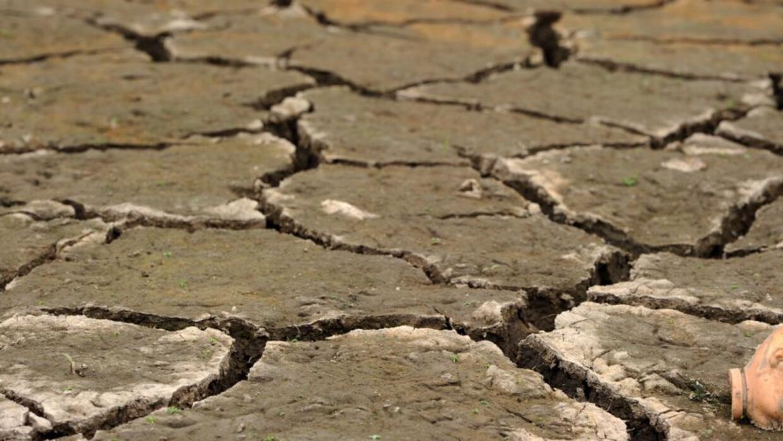 Desertización en Honduras a consecuencia de El Niño.