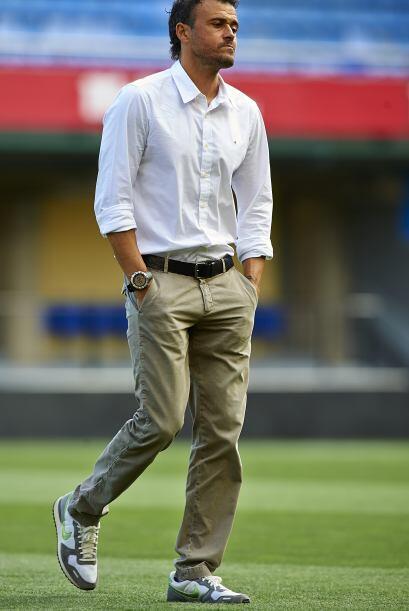 Luis Enrique, entrenador de los 'culés', veía las complicaciones que pas...