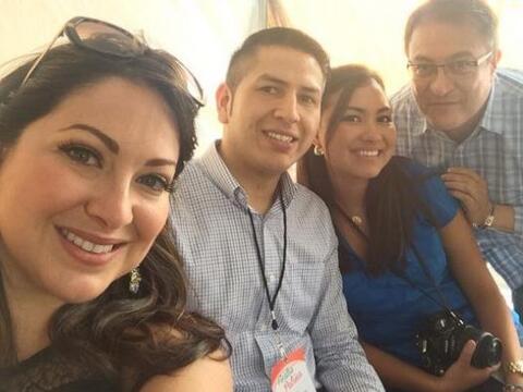El equipo de Univision Atlanta estuvo presente en un festejo más de Fies...