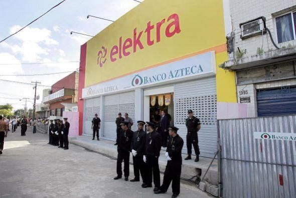 8. ELEKTRA. La mexicana especializada en mercancías, electrodomésticos y...