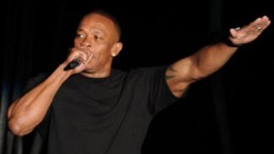 El rapero y productor Dr. Dre.
