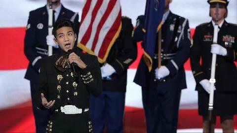 El joven latino que arrancó los aplausos en el tercer día de la convenci...