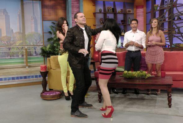 Aún con Alan de pareja, Graciela hizo el intento para mostarnos s...