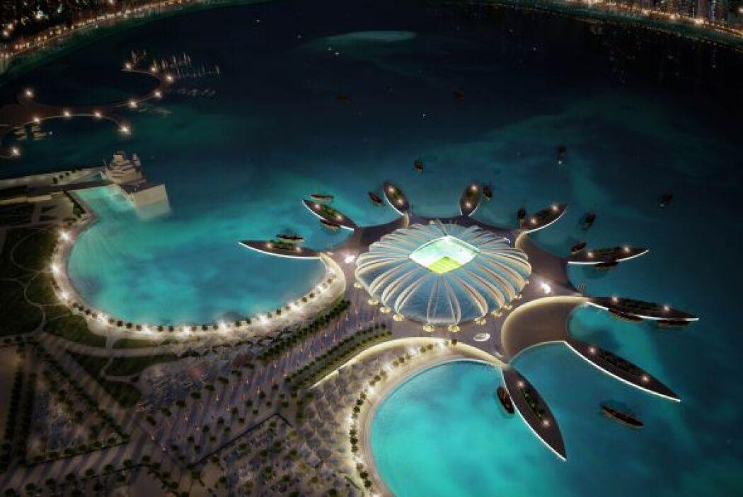 Doha Port Stadium (Doha), puede tener 44.950 hinchas y es uno de los más...