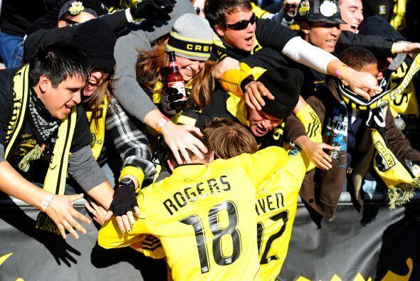Los aficionados del Crew tuvieron pocas razones para celebrar, pero entr...