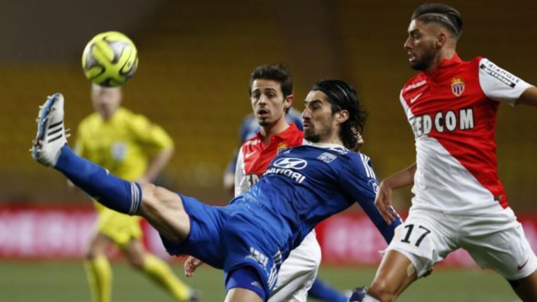 El Lyon no pudo descifrar el esquema defensivo monegasco y el empate da...