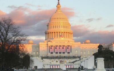 Washington se prepara para realizar la ceremonia de posesión del preside...