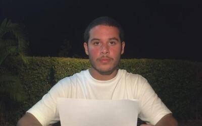 En video: El hijo del Defensor del Pueblo en Venezuela condena la repres...