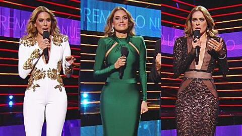 ¡Galilea Montijo lució cuerpazo en tres increíbles vestidos!
