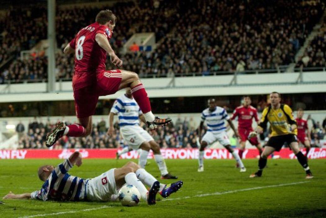 Los 'Reds' se lanzaron al frente para marcar el primer tanto, gracias a...